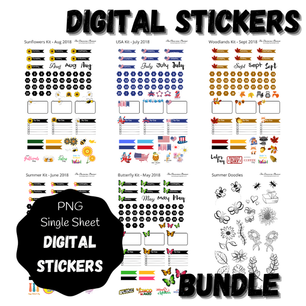 Planner Stickers - Big Bundle