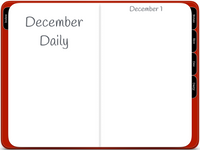 Holiday Planner - Digital With December Daily