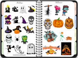 Digital Sticker Book for GoodNotes