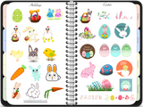 Digital Sticker Book for GoodNotes - Digital Planner - The Awesome Planner