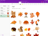 OneNote Sticker Notebook - Digital Planner - The Awesome Planner