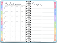 GoodNotes Undated Vertical Awesome Planner in Blue - Digital Planner - The Awesome Planner
