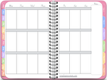 Vertical Awesome Planner in Pink (Undated Version) - Digital Planner - The Awesome Planner