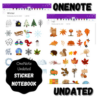 OneNote Sticker Notebook