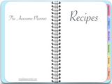Recipe Binder - Digital Recipe Book