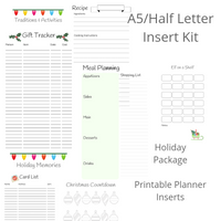 A5-Half Letter - Holiday Set - Digital Planner - The Awesome Planner
