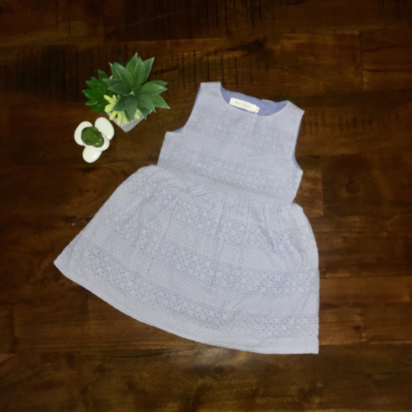 Girls Round Neck Dress with Open Back and Bow Detail - sizes 2-6 -  The Little Frog Collective | Baby Clothes online store in Australia