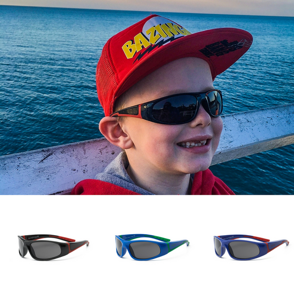 4+ Kids ~ Bolt - Sunnies 4+ The Little Frog Collective | Baby Clothes online store in Australia