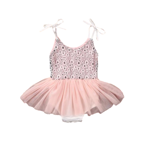 Baby Girls Tutu Dress with Tie Straps sizes 3m-24m -  The Little Frog Collective | Baby Clothes online store in Australia