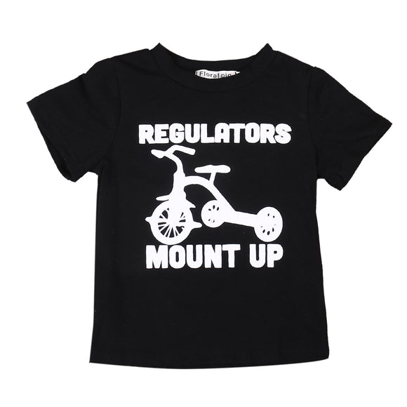 'Regulatorrrrrs Mount Up' T-Shirt - sizes 2-6 -  The Little Frog Collective | Baby Clothes online store in Australia