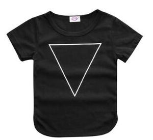 Printed Triangle Design T-Shirt - sizes 6m-36m -  The Little Frog Collective | Baby Clothes online store in Australia