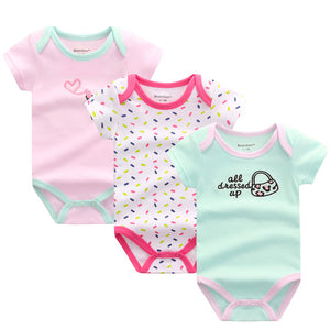Premium Baby Girls Rompers - 3 pack -  The Little Frog Collective | Baby Clothes online store in Australia