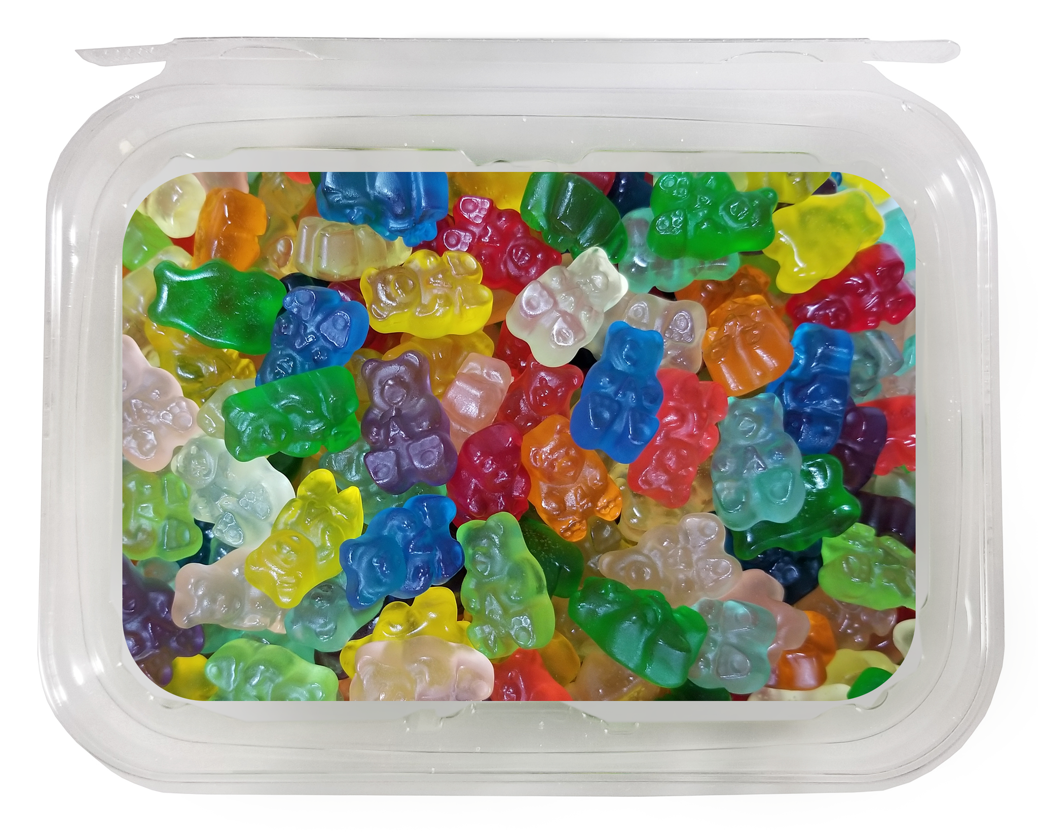 TUB: Gummi Bears (1lb/8ct)