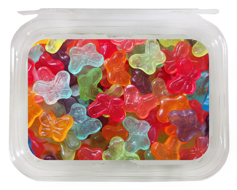 TUB: Gummi Butterflies (1lb/8ct)