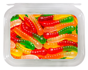 TUB: Gummi Worms (1lb/8ct)