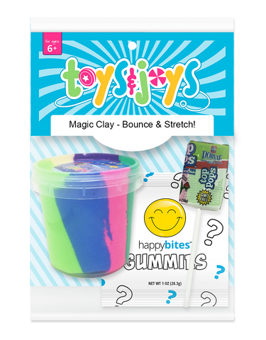 TOYS & JOYS: Magic Clay (18ct)