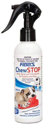 Fido's Chew Stop 200ml for Puppies & Dogs