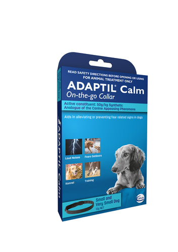 ADAPTIL Calm On-The-Go Collar - Puppy/Small Dog