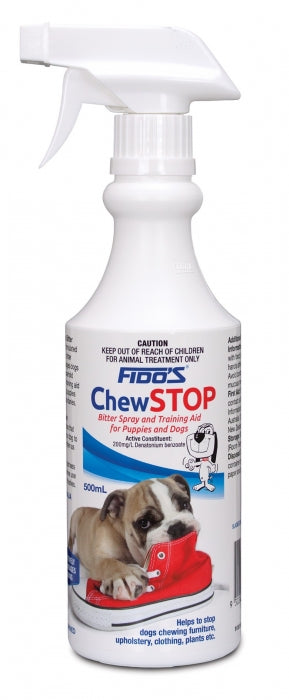 Fido's Chew Stop 500ml for Puppies & Dogs