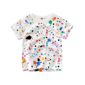 Abstract Splash Tee