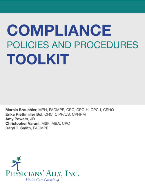 Compliance Policies and Procedures Toolkit