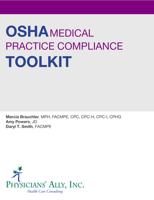 OSHA Medical Practice Compliance Toolkit