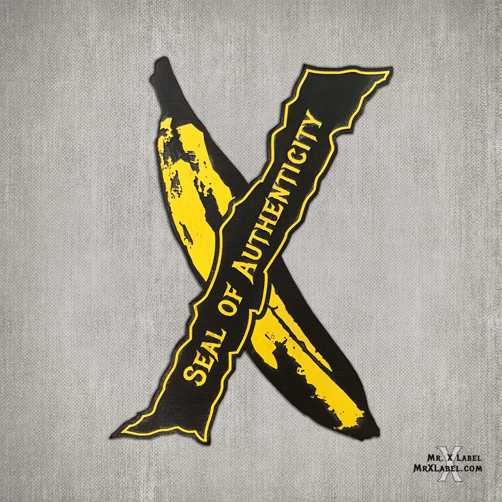 Banana Seal X Acrylic Patch