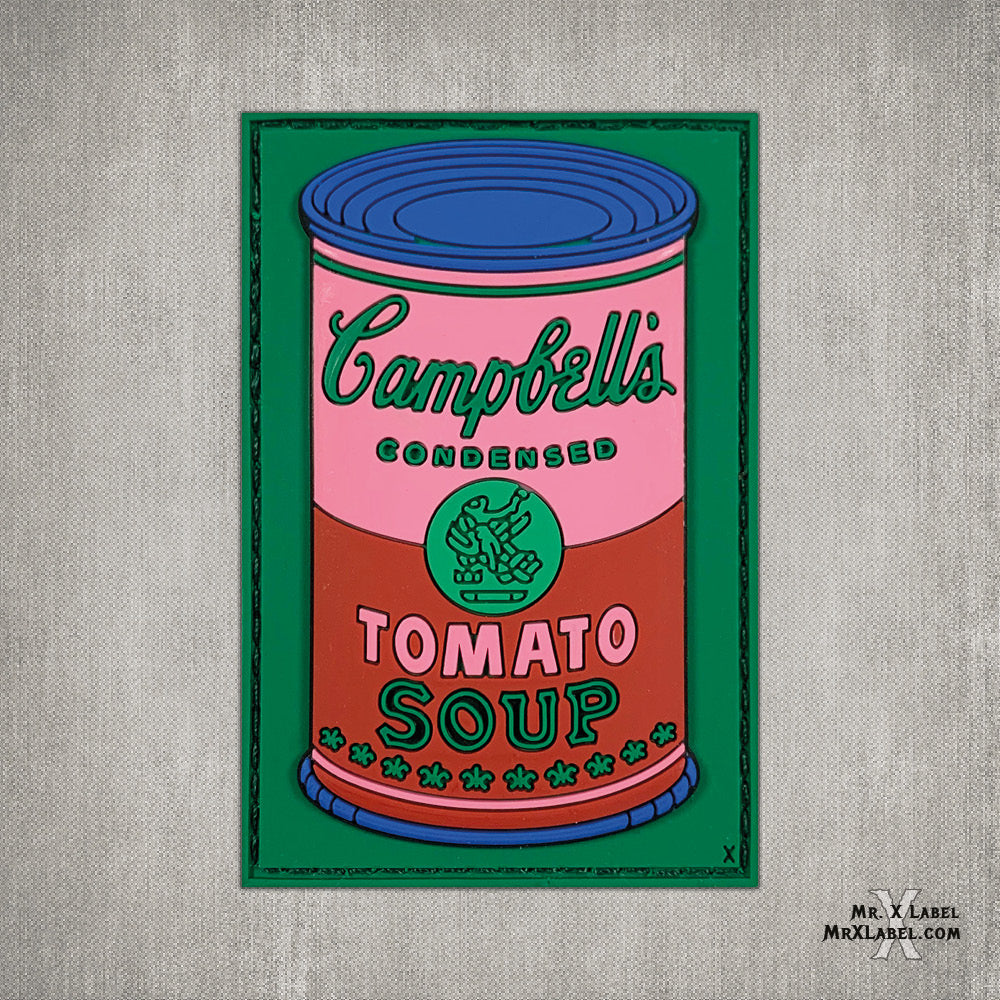 Campbell's Soup v2 PVC Patch