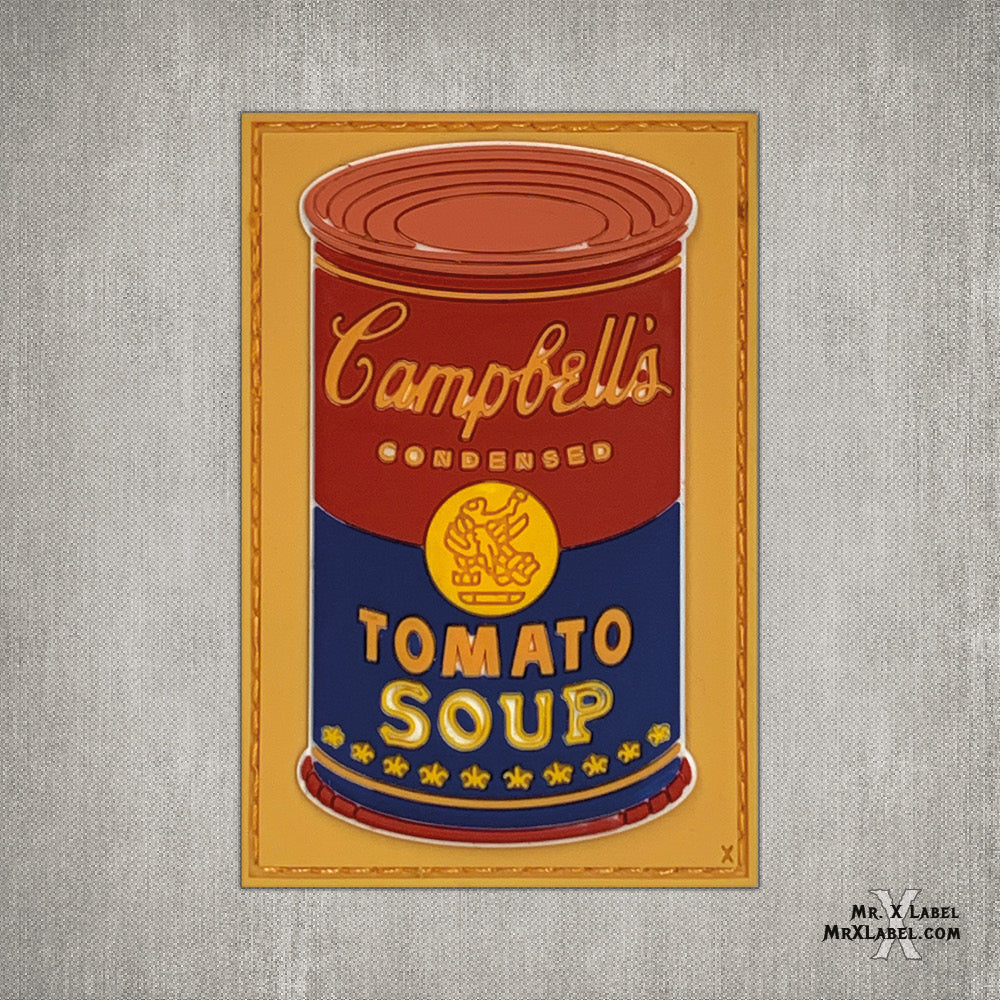 Campbell's Soup v3 PVC Patch