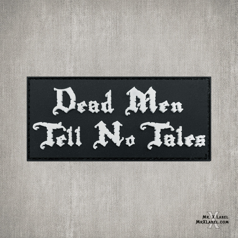 Dead Men Tell No Tales PVC Patch