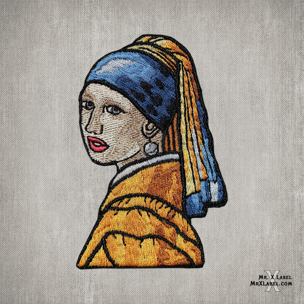 Girl with a Pearl Earring Character Patch
