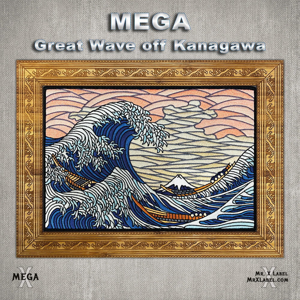 Great Wave off Kanagawa MEGA Patch