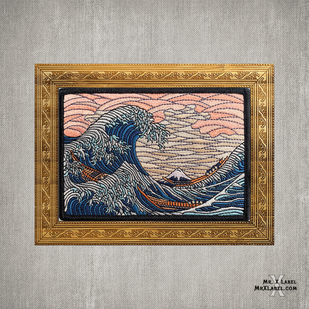 Great Wave off Kanagawa Embroidered Patch