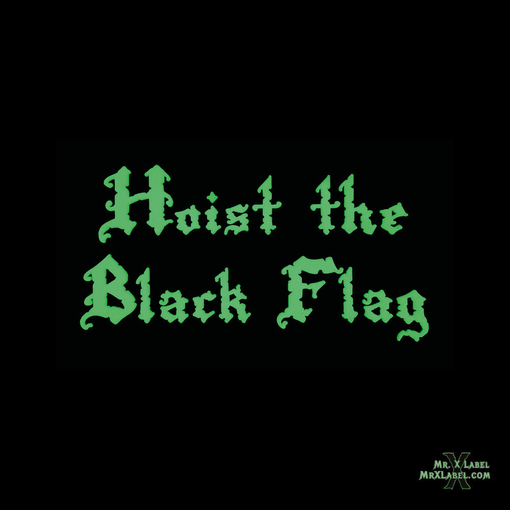 Hoist the Black Flag PVC Patch
