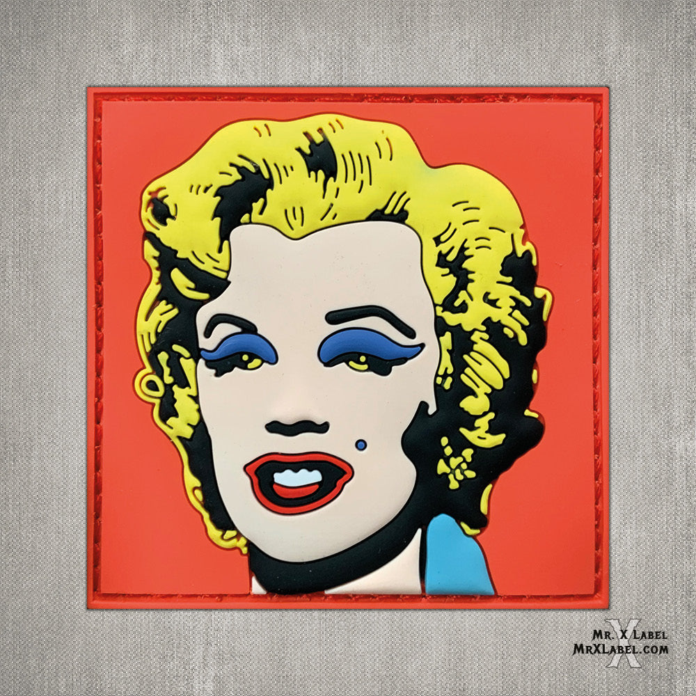 Marilyn Monroe v1 PVC Patch