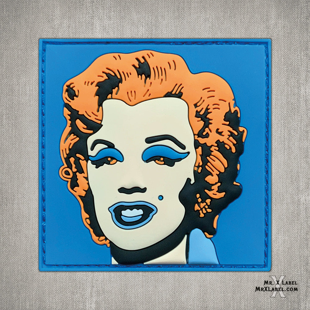 Marilyn Monroe v2 PVC Patch