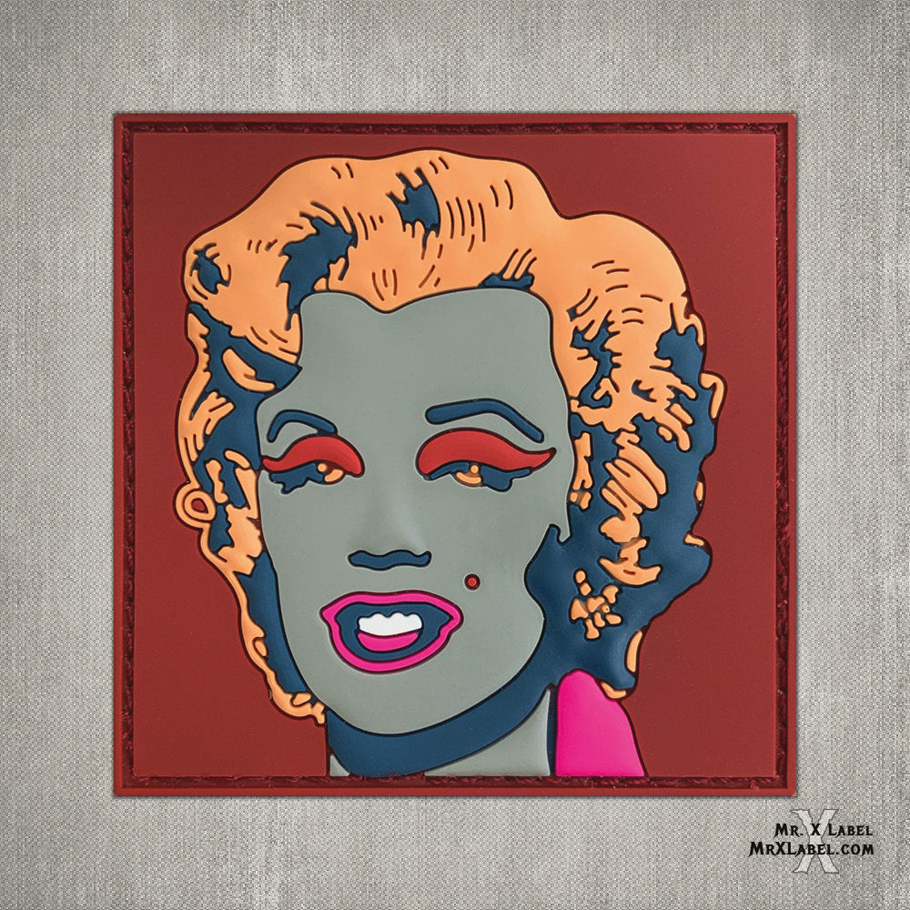 Marilyn Monroe v8 PVC Patch