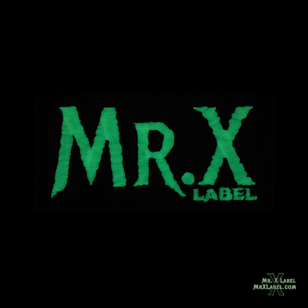 Mr. X Label v4 (Starry Night) Embroidered Patch
