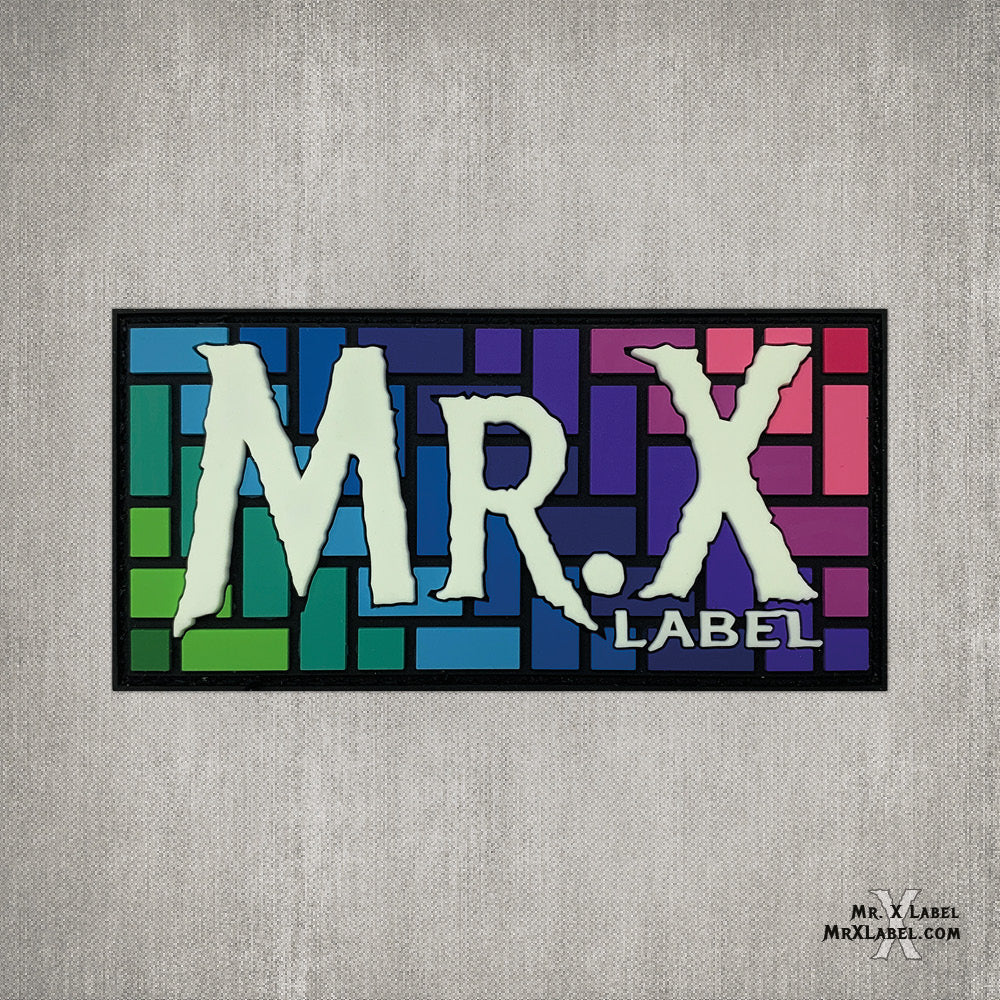 Mr. X Label v5 (Flow) PVC Patch