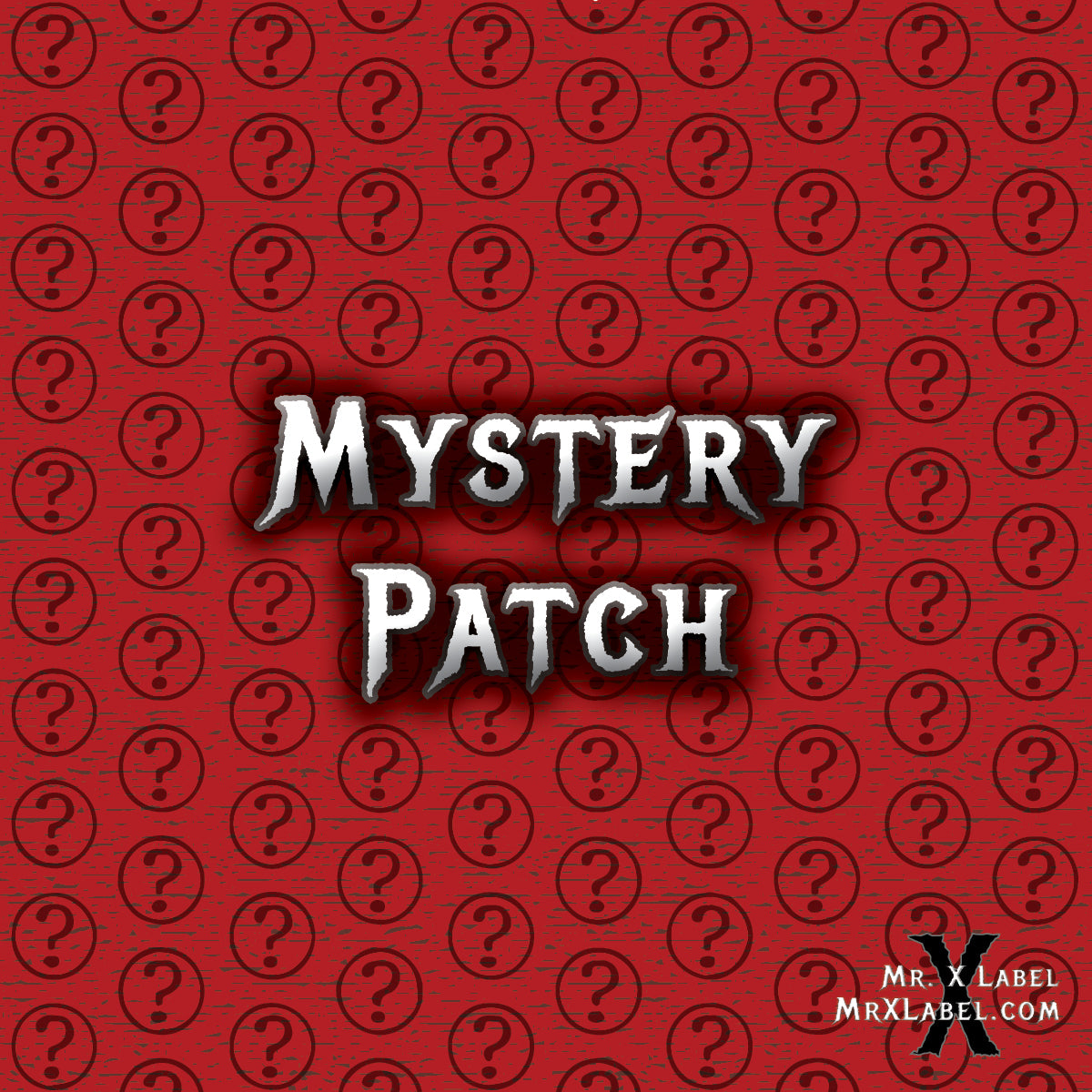 Cherry Seal X Acrylic Patch