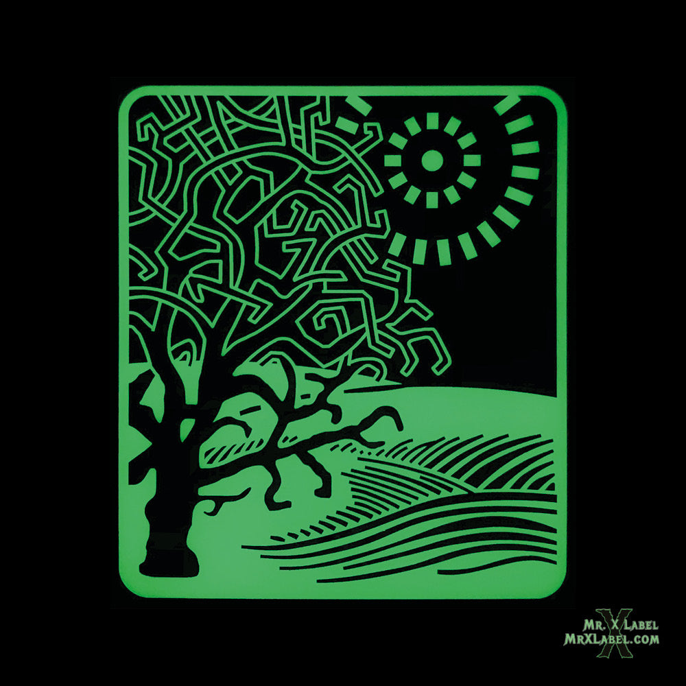 Oak Tree Glow Acrylic Patch
