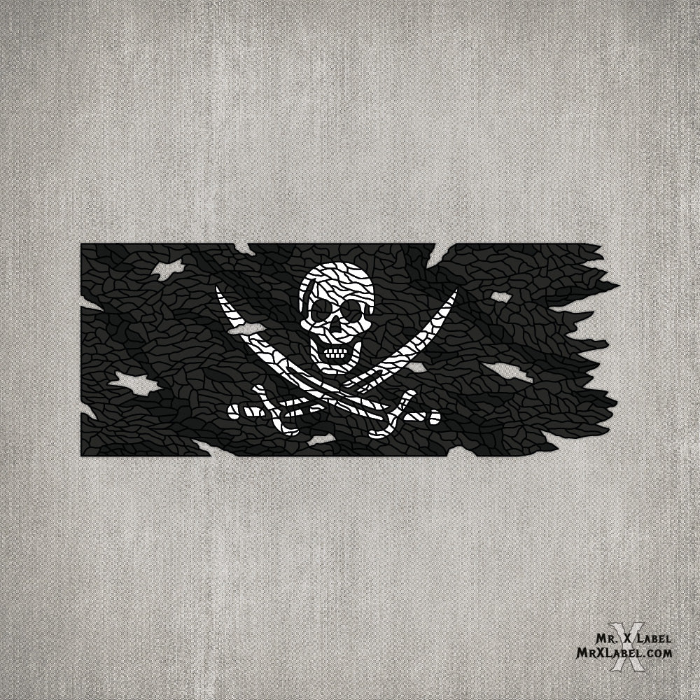 Pirate Flag - Sticker Pack 1