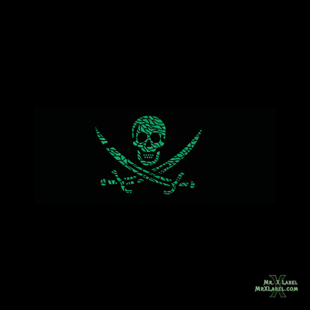 Pirate Flag v.Mega Embroidered Patch