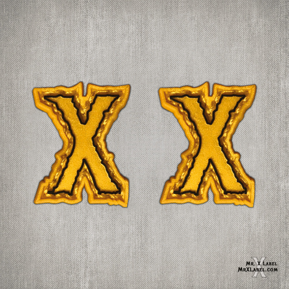 Ranger X Gold PVC Patch