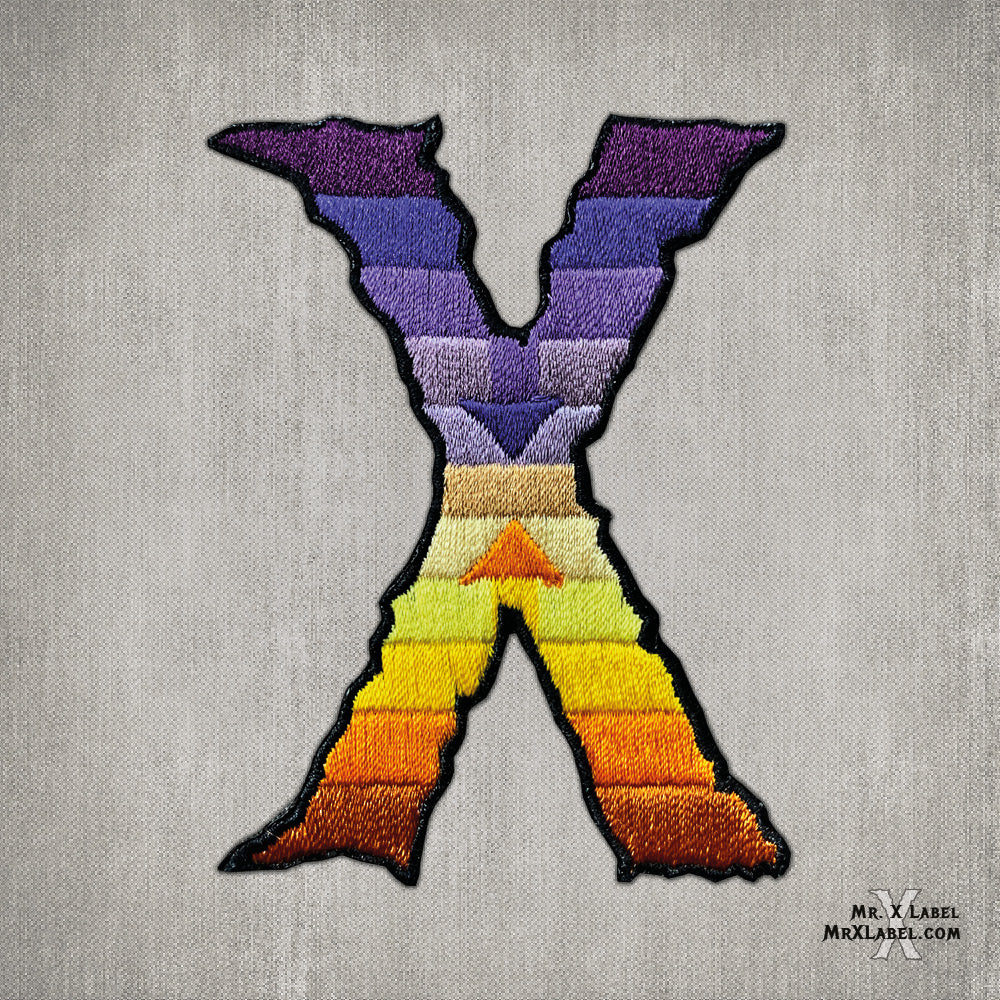 Separation in the Evening Embroidered Patch