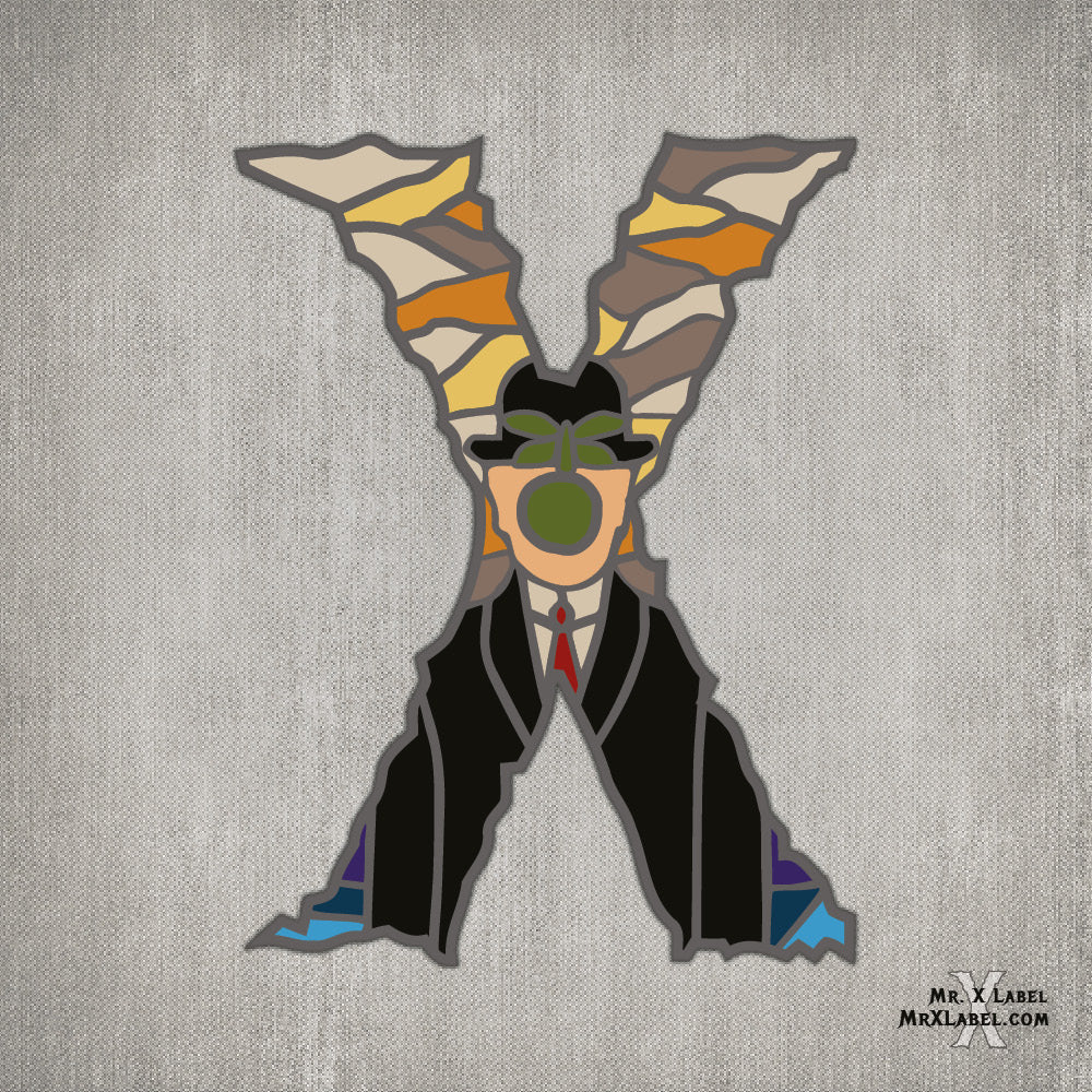 Son of Man X Embroidered Patch