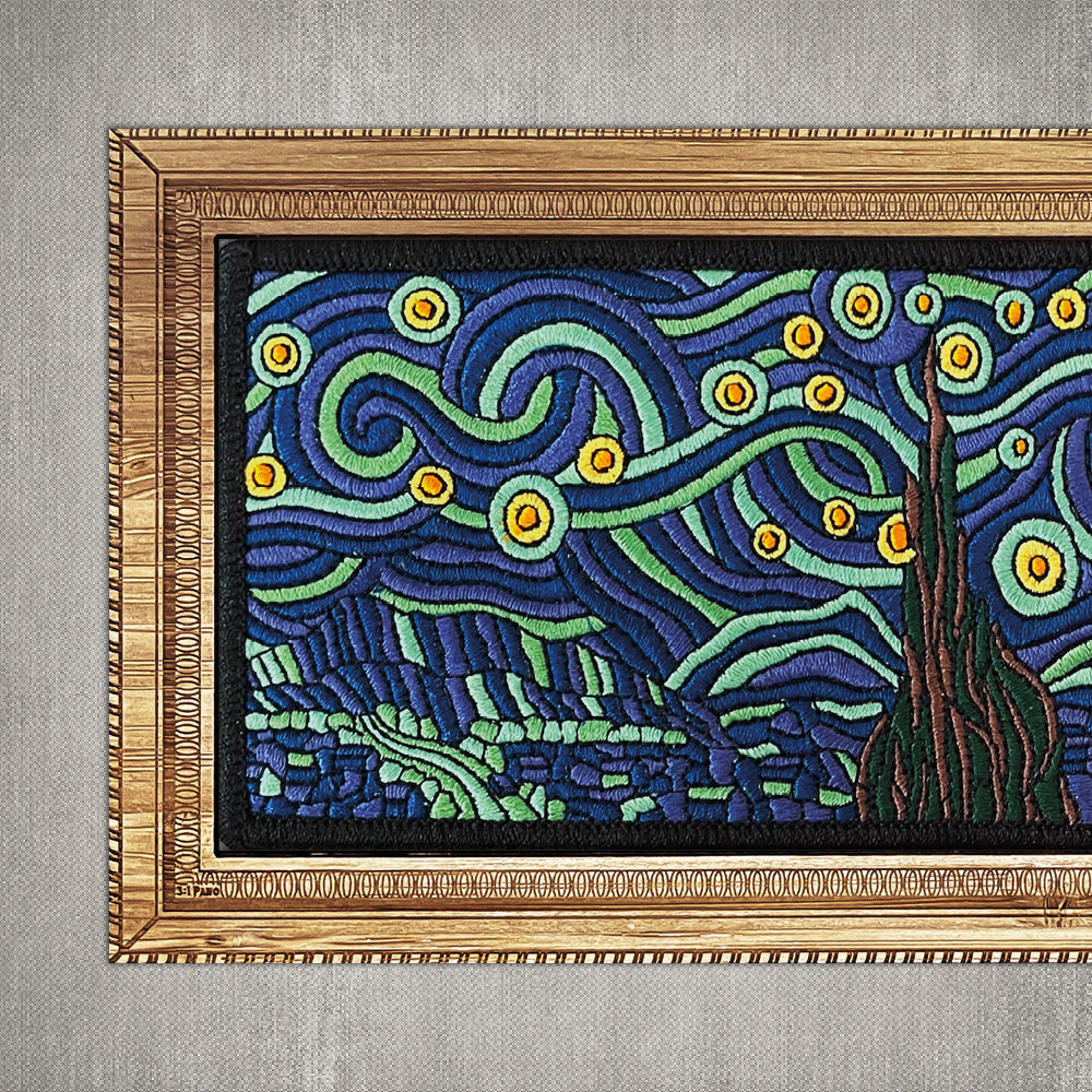 Starry Night Panoramic - 3:1 Patch