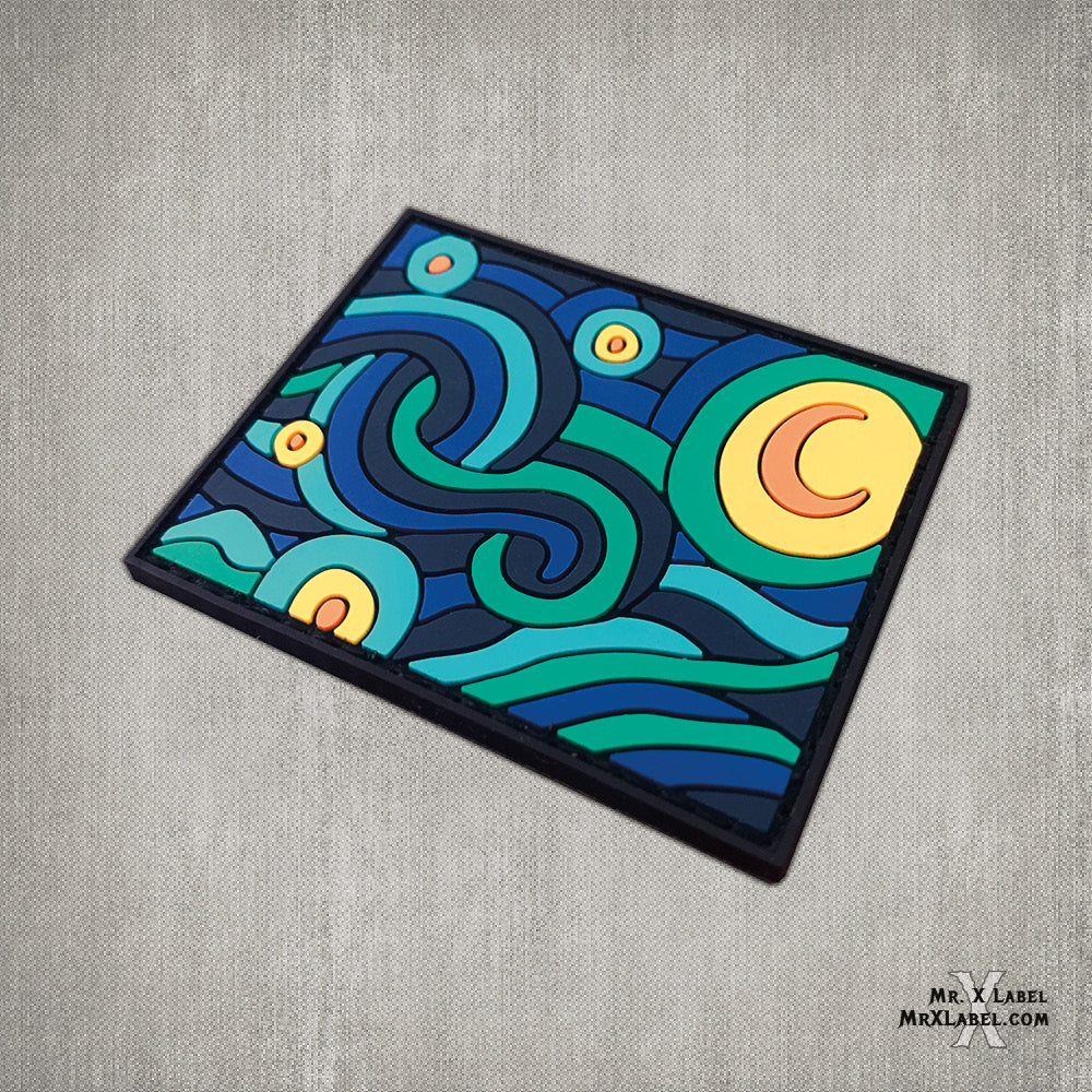 Starry Night Slice v1 PVC Patch