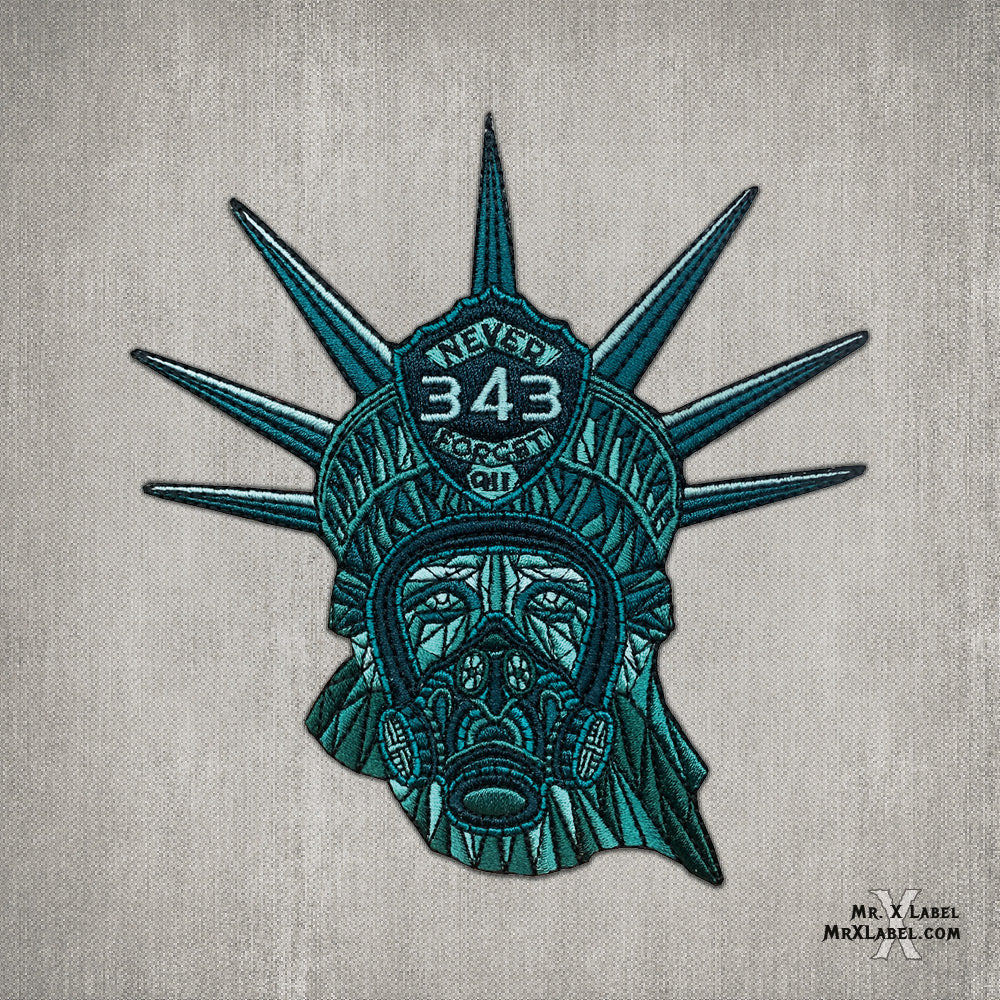 Statue of Liberty - 343 Fire Embroidered Patch