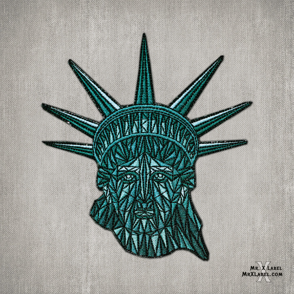 Statue of Liberty Embroidered Patch